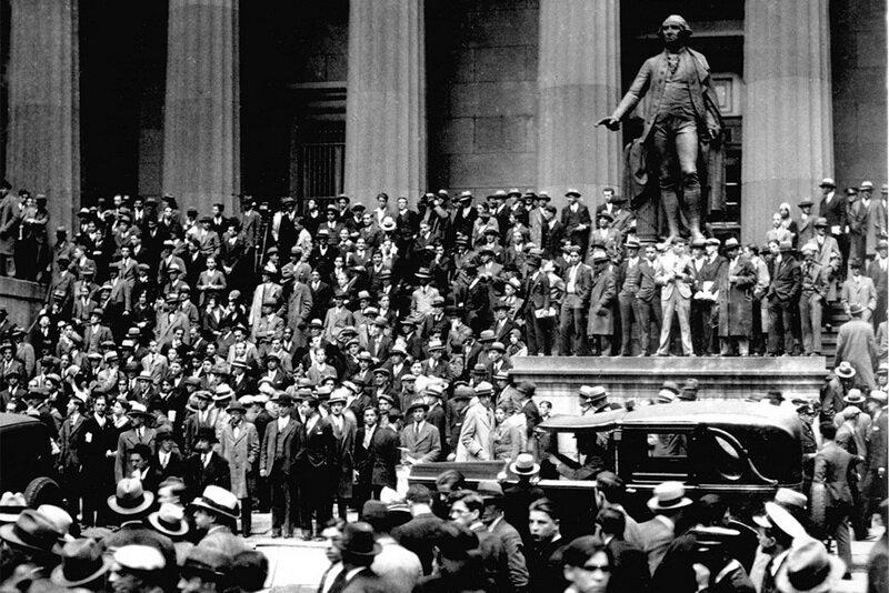 29 октября 1929 года - «Черный вторник»: на нью-йоркской фондовой бирже окончательно рухнул рынок акций