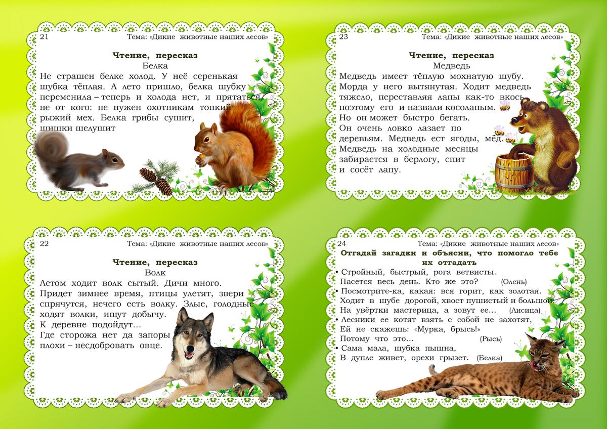Беседы про домашних животных с картинками