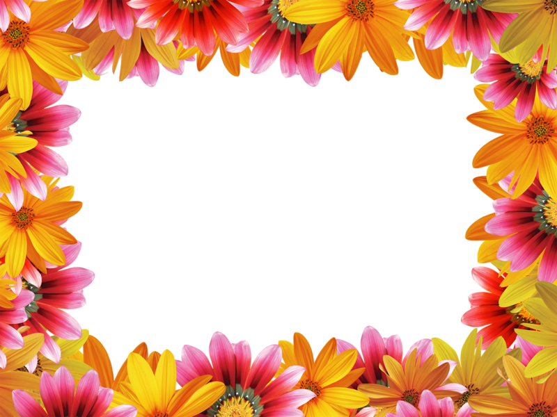 Рамочка из цветов картинка