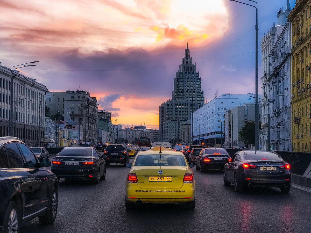 красивые картинки дороги в москву даже