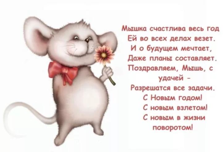мой, тебе прикольные стихи мышки таких целей есть