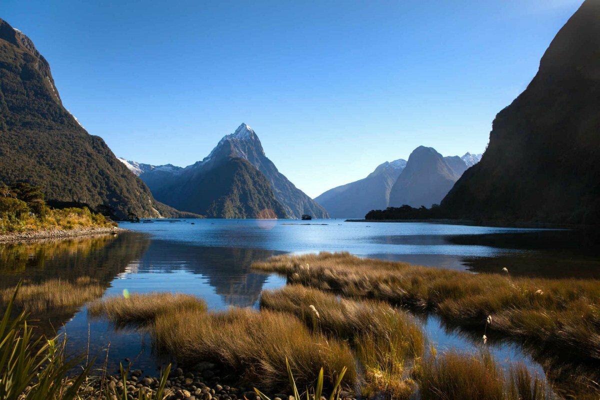 новая зеландия красивые виды фото модели