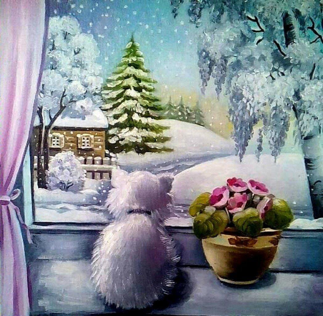С добрым зимним утром картинки высокохудожественные