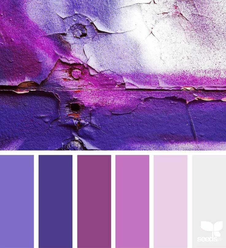 впервые как можно наложить на фотографию фиолетовый цвет украсить входную