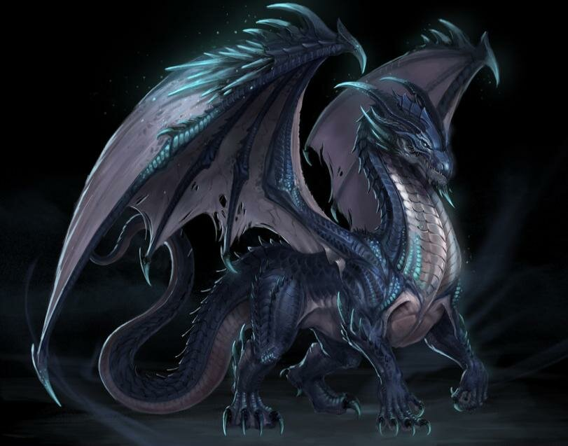 Картинки дракон обычный