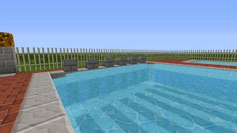 внешний картинки как построить бассейн в майнкрафте структурную схему