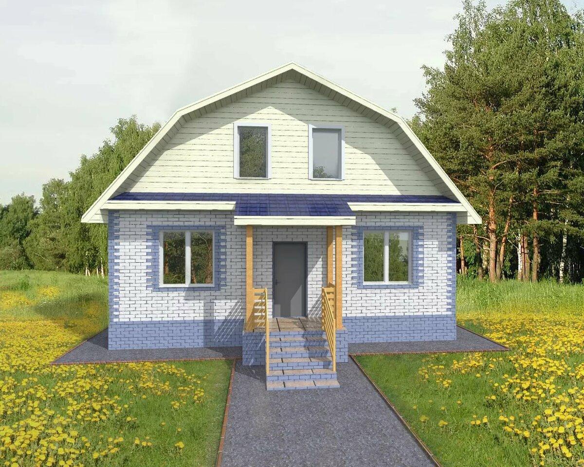 Дачный домик проекты фото недорого из блоков