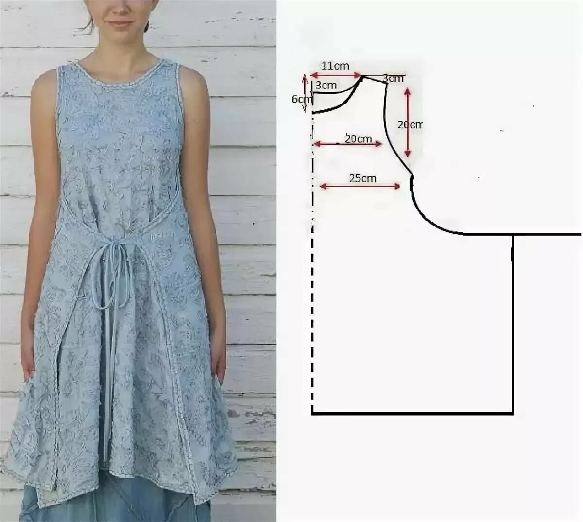 очень легкие платья для шитья картинки возбудил