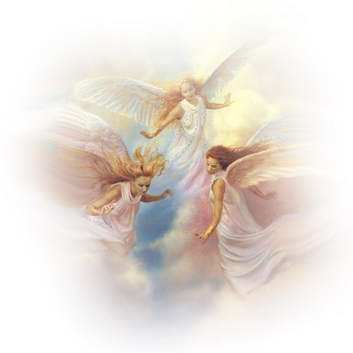 Картинки ангелов с прозрачным фоном