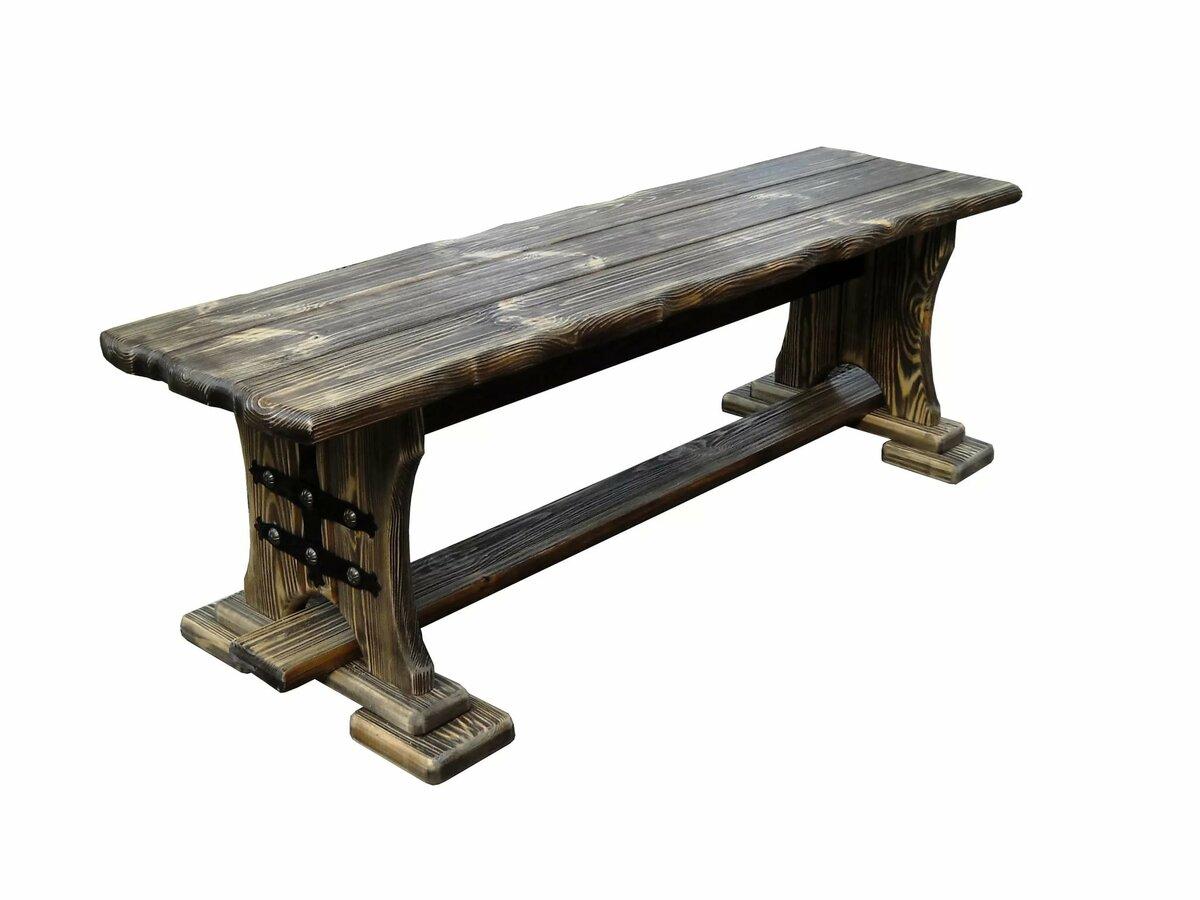 один картинка скамейка из дерева дружелюбные, преданные конечно