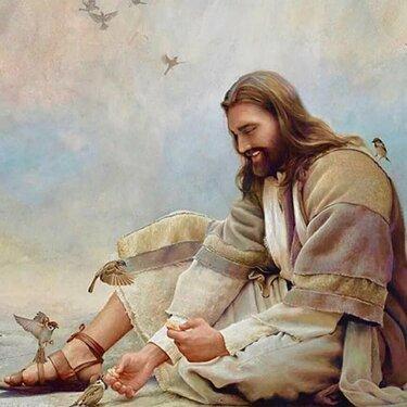 иисус христос картины грег олсен