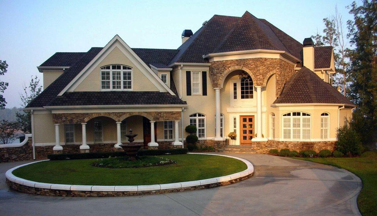 посмотреть фото и дизайн красивых домов