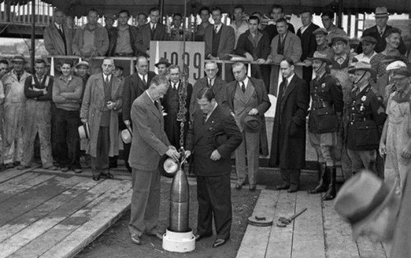 23 сентября 1939 года на Всемирной ярмарке в Нью-Йорке заложена «Капсула времени»