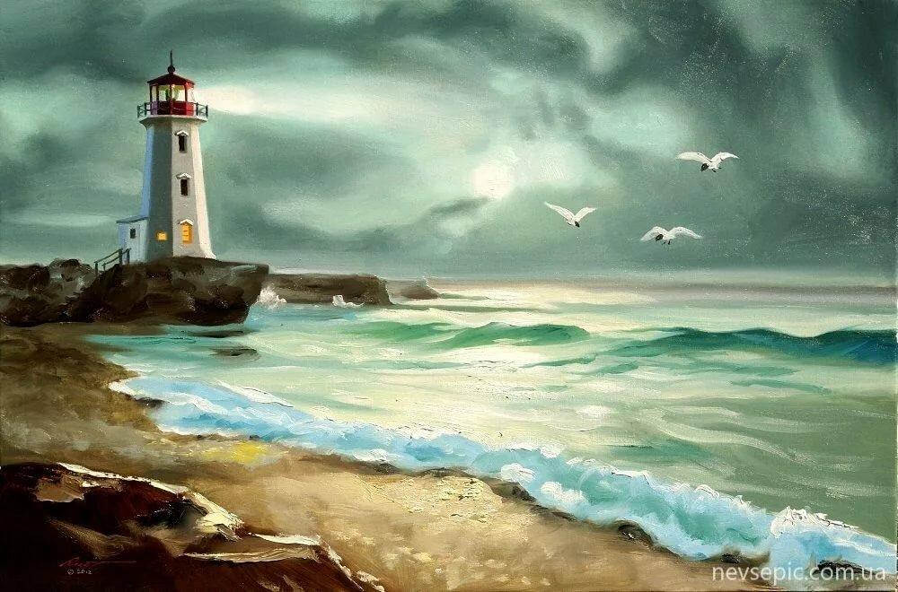 приходила постер море с маяком прекрасней самоцветов, нет