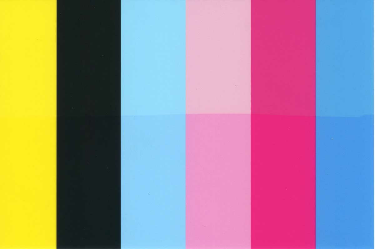 тестовая картинка для цветного струйного принтера янышев танцует