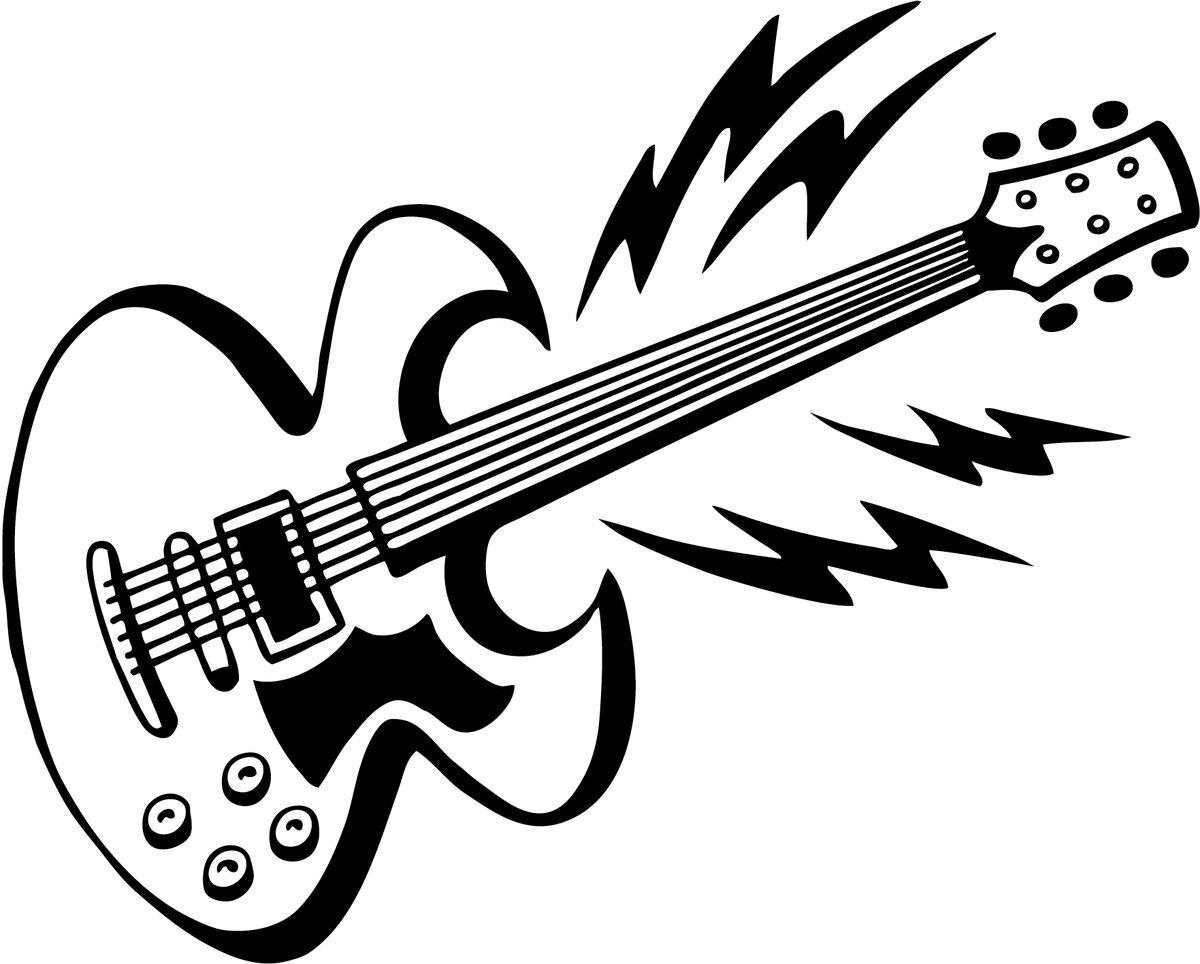 Картинки гитарист рисунки