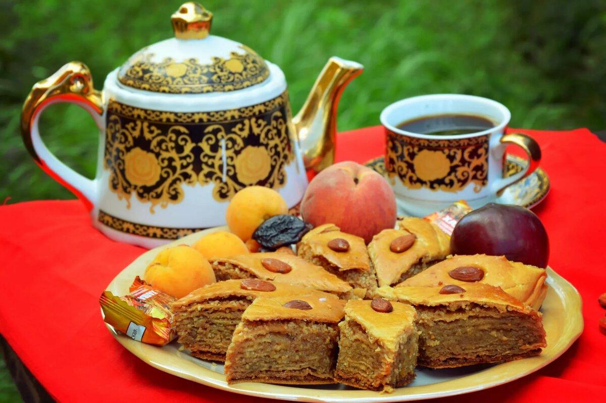 Картинки чаепитие с пирогами