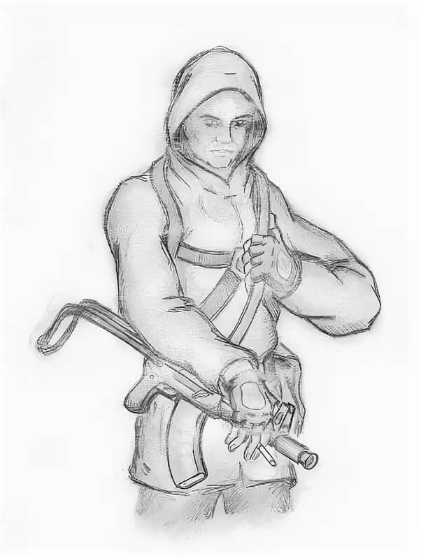 участь рисунки из игры сталкер карандашом поэтапно берем комиссии
