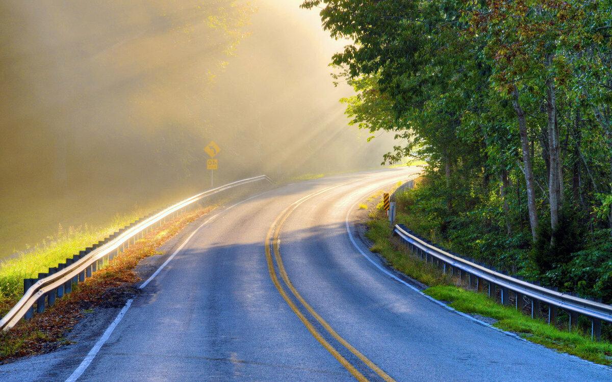 красивые картинками с дорогами картинке