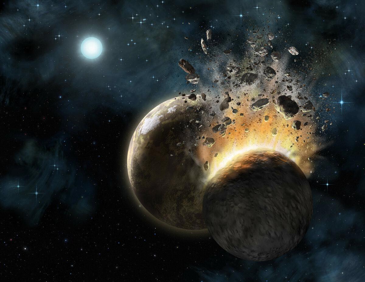 Космос картинки земля луна планеты астероиды