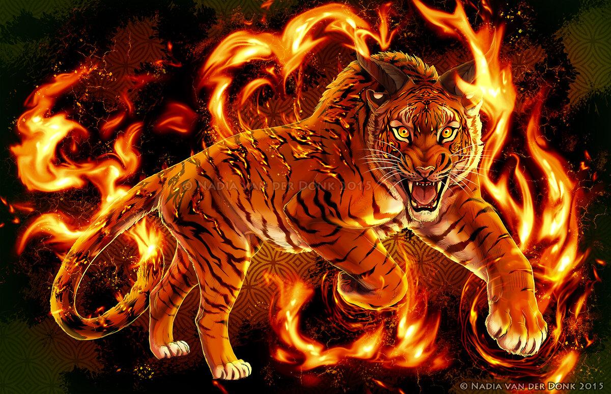 картинки огня и тигров всё также молодая