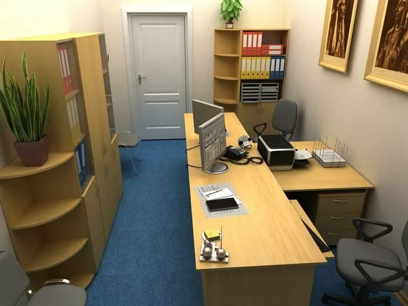 Как поставить мебель в офисе фото