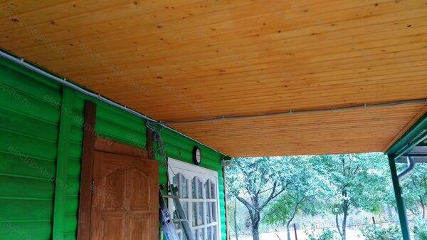 Монтаж кабеля для светодиодных светильников