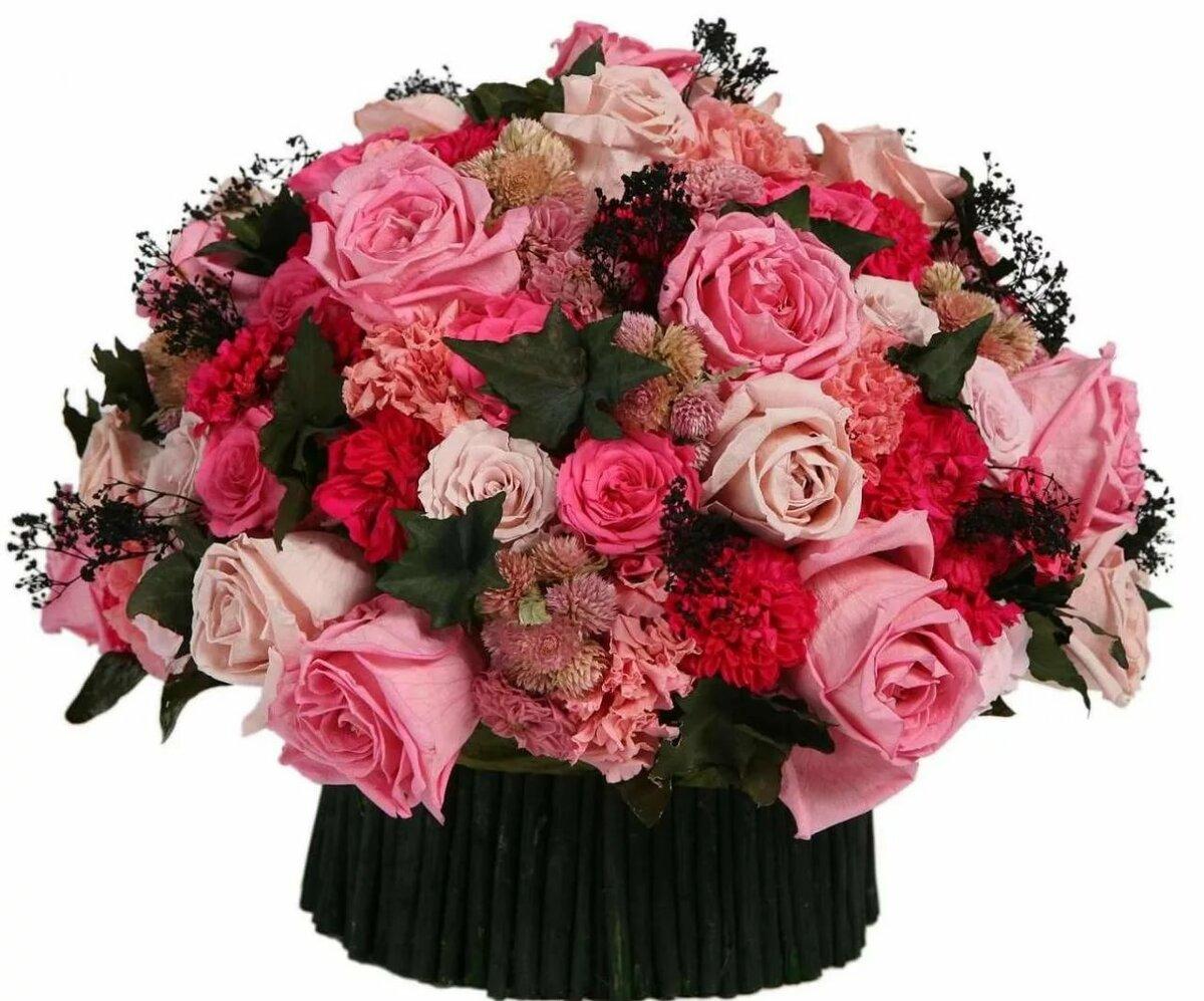 С днем рождения женщине картинки цветы живые
