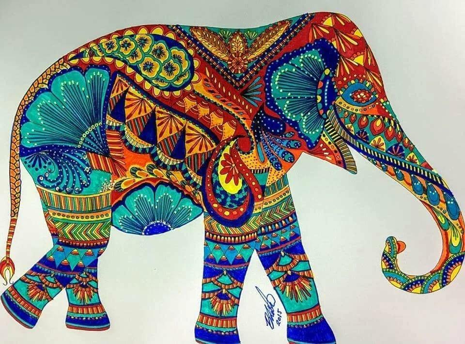 Нарисованные картинки индии