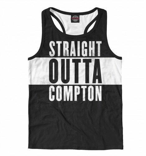 Мужская майка борцовка 3D Straight Outta Compton