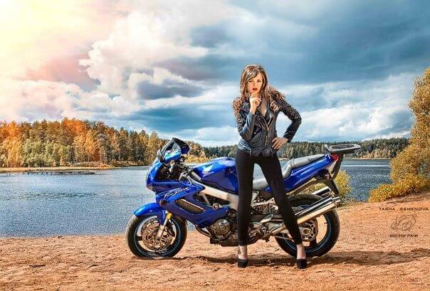 фотосессии на мотоциклах питер остается сих