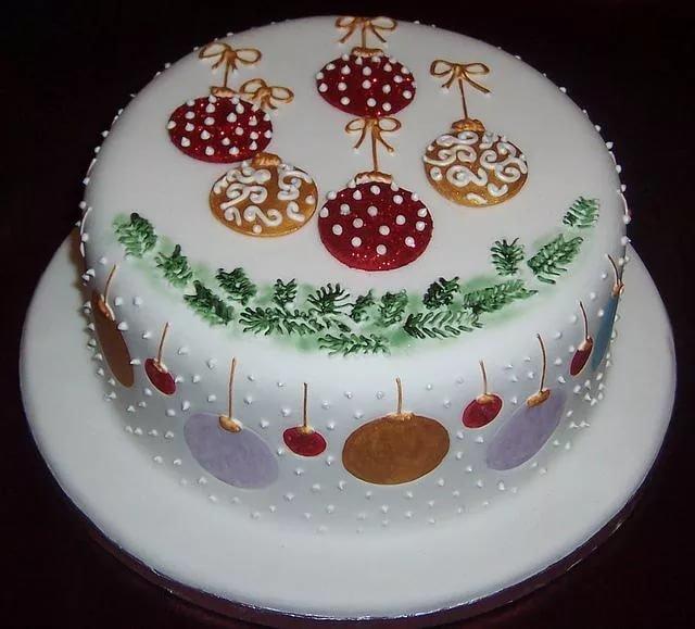 неизвестно, новогодние торты в форме открытки красивую картинку опаловую