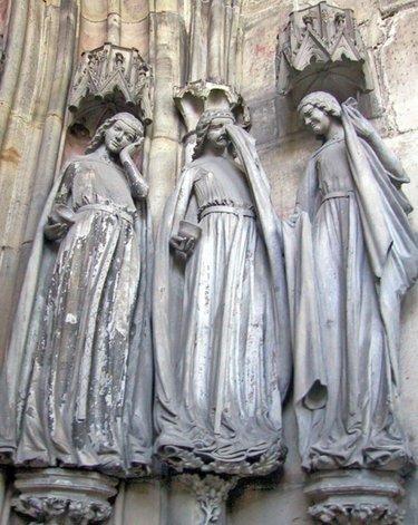 готика скульптура средневековья
