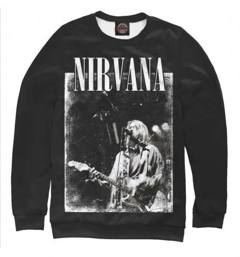 Свитшот для мальчиков Nirvana