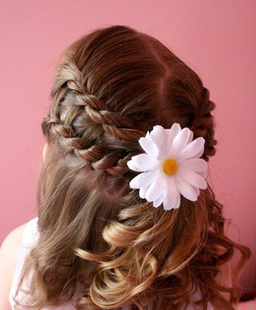 красивые прически на длинные волосы девочке Италия Ирландия: фавориты