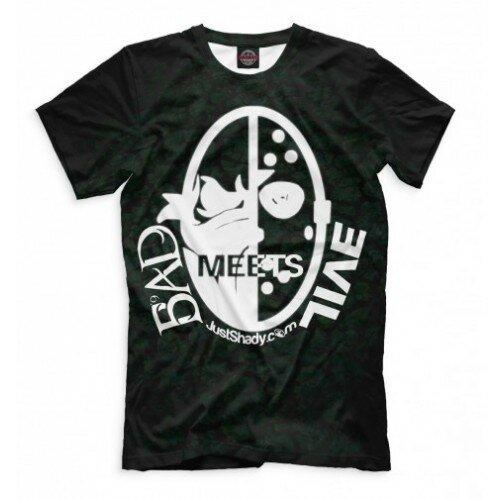 Мужская футболка 3D Bad Meets Evil