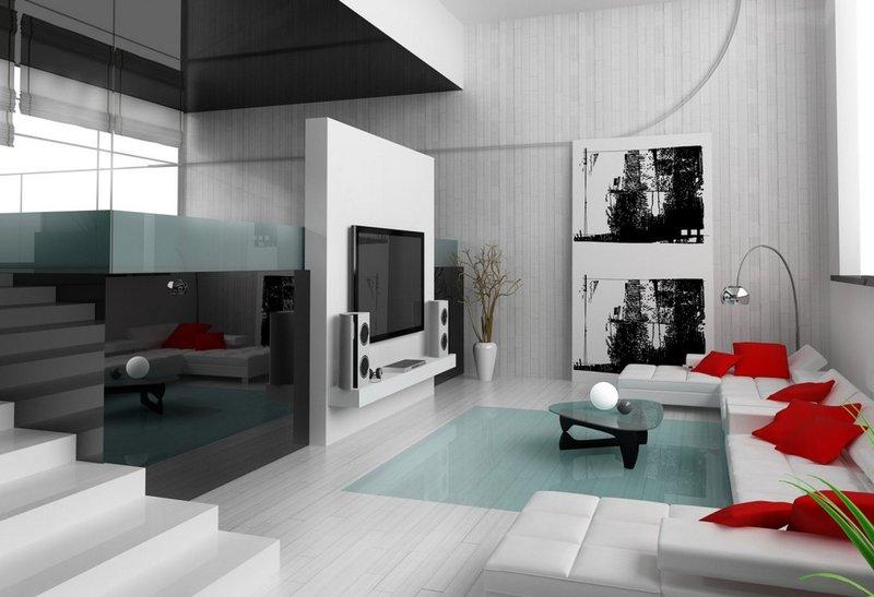 Стиль минимализм в интерьере: кухня, гостиная, спальня и ванная Интерьер дома в стиле минимализм
