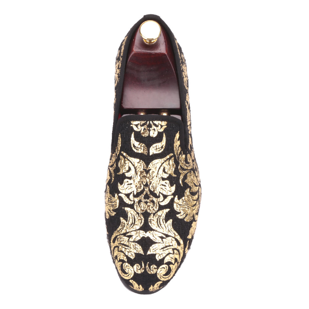 e282f2e7ba1 ... чистка декор Picture from PIERGITAR Official Store about Piergitar New  High end Gold printing Men Shoes