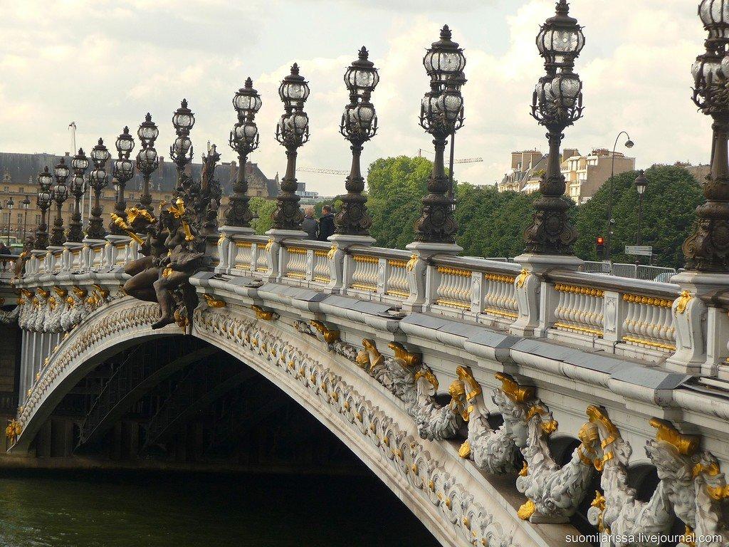 s1200?webp=false Париж. Легендарный Мост Александра III.