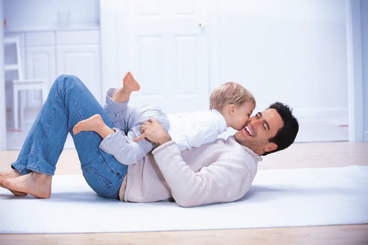 Картинка мужчины и ребенка