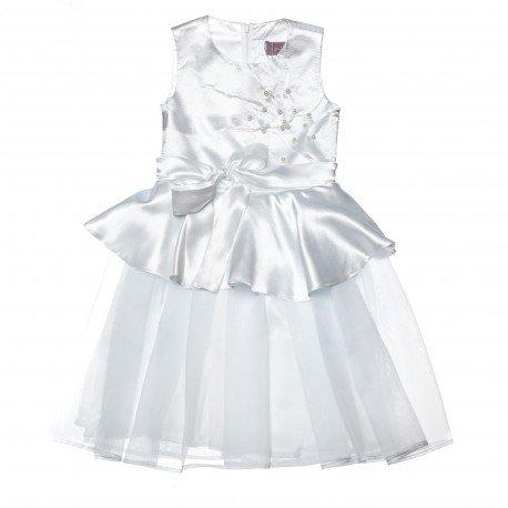 белоснежное белоснежное платье для девочки