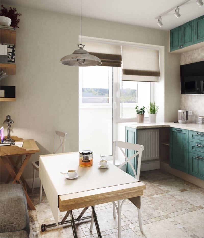 Шторы на кухню: идеи, фото новинок, лучшие примеры интерьера.