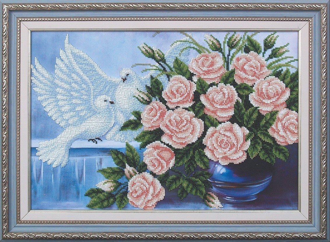 Букеты роз и голуби цена, цветы букета