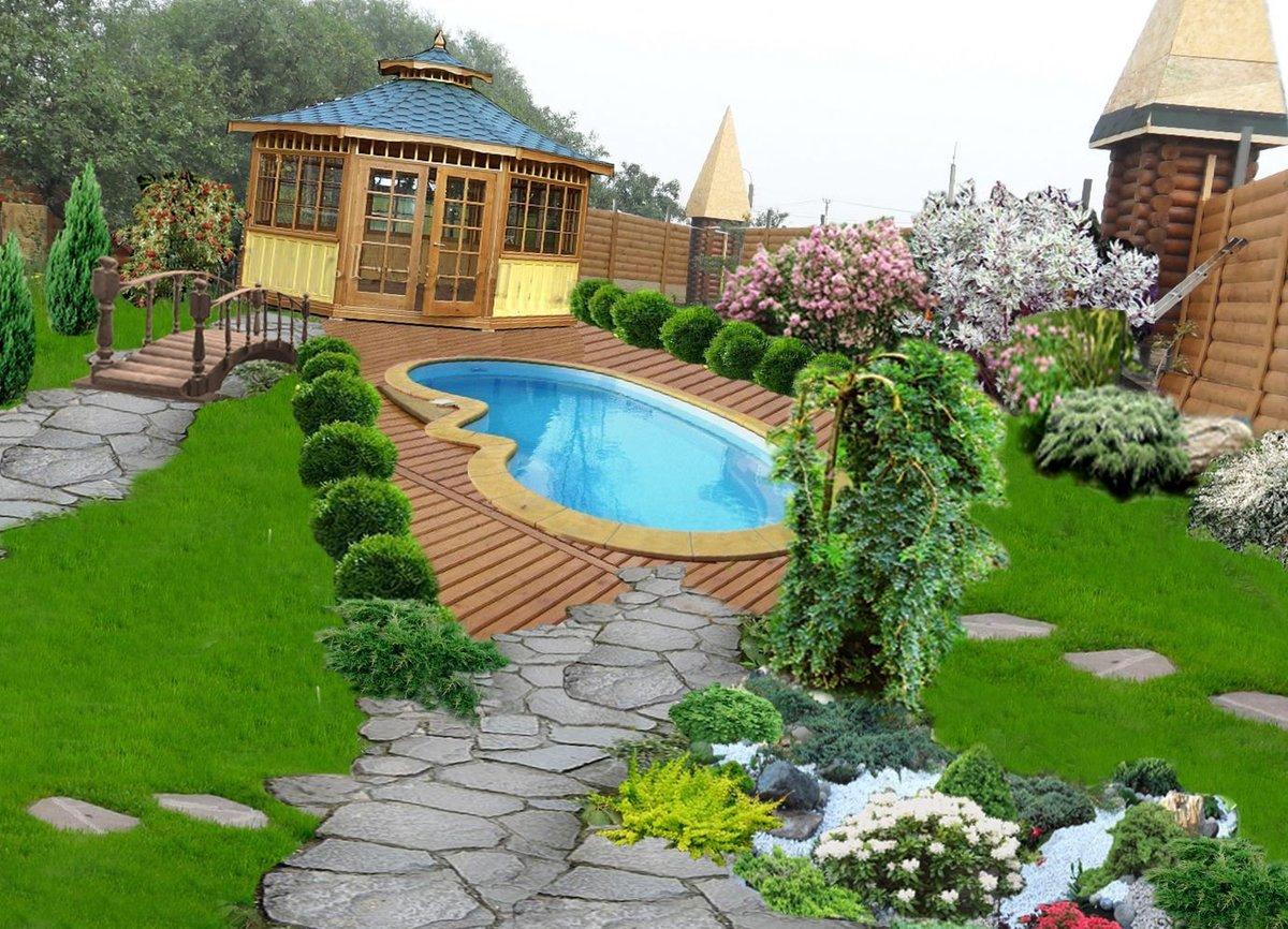 Надписью, картинки ландшафтного дизайна для загородных домов
