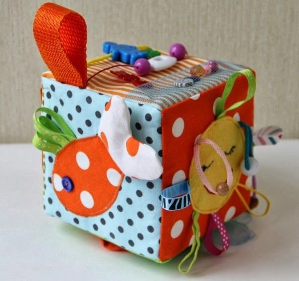 Развивающий кубик своими руками, идеи мастер класса 67