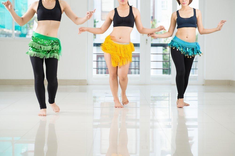 Танцы для похудения талии