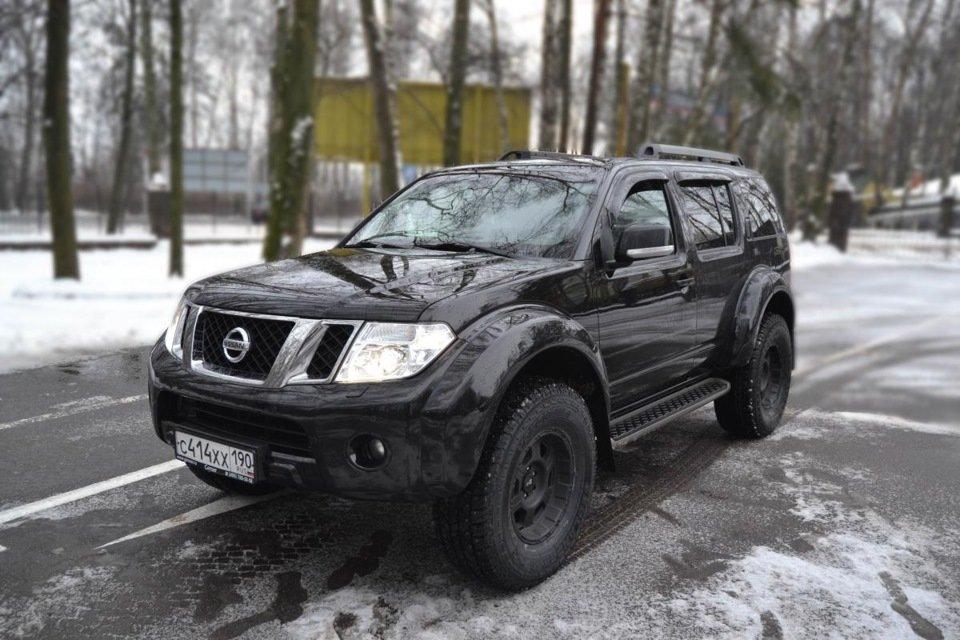 Тюниг Nissan Pathfinder Arctic Trucks