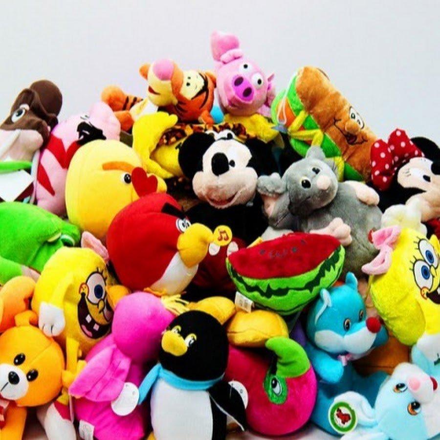 Куча игрушек картинка