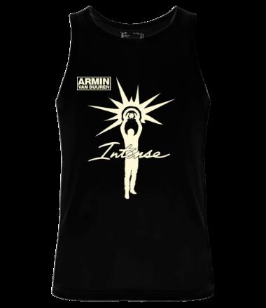 Мужская майка Armin van Buuren - Intense (glow)