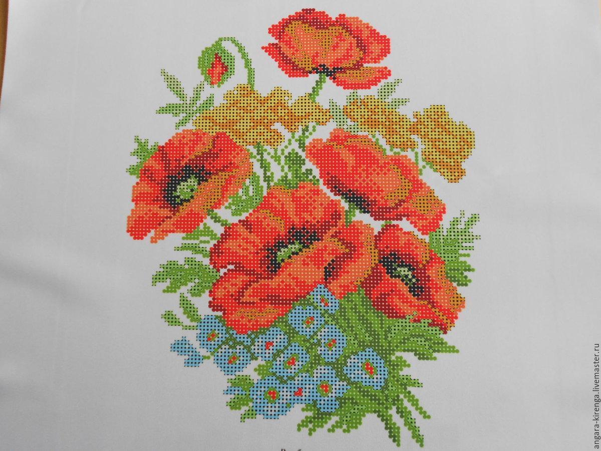 рисунки для вышивания картинки на ткани занятие для русского